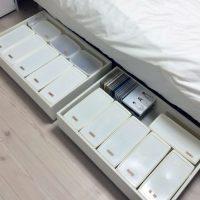 収納が足りない悩みを解消!「ベッド下」収納スペースの作り方3例