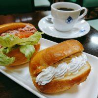 【神戸・元町】老舗純喫茶のお得すぎるロールサンドセット@エビアンコーヒー