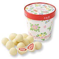 サクサク食感と甘酸っぱさのマリアージュ♪「六花亭 ストロベリーチョコレート」
