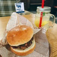 【大阪】朝からお肉!+100円で味わう絶品ハンバーガー@肉が旨いカフェ NICK STOCK