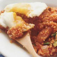 10分で完成♪朝のおすすめ食材で作る時短「トマトピラフ」