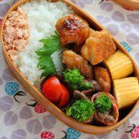 春を味わう♪「菜の花とエリンギのベーコン巻き」のお弁当
