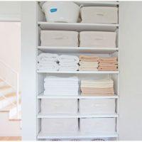 整えるって気持ちいい♪使いやすそうな「洗面所」収納アイデア3選