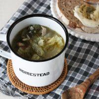 材料3つでむくみすっきり♪まるごと「セロリの食べるスープ」