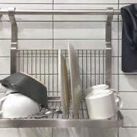 キッチンをおしゃれに!見た目と機能をそなえた「水切りラック」3選
