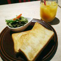 【大阪】トーストが7種類!ワンコインで充実モーニング@カフェ アンド