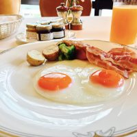 暑い季節こそホテルで涼しく♪ホテル朝食☆【ホテルオークラ】