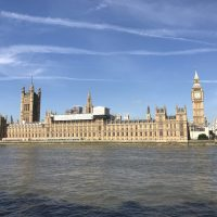 久しぶりのロンドンへ。観光名所を朝から散歩した1日