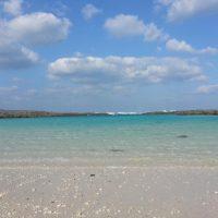 マヨルカ島にも負けない海の透明度。
