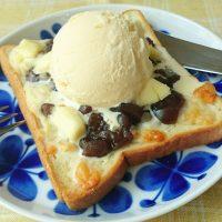 禁断レシピ!チーズ×アイスで絶品「ようかんトースト」