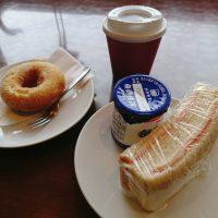 【大阪】サンドイッチもドーナツも!大満足モーニング@ハニーミツバチ珈琲