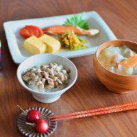 丁寧なのは1品だけでOK!「和朝食」をラクに作るコツ♪
