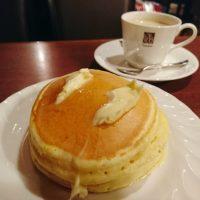 【大阪・東梅田】レトロな純喫茶でいただく懐かしいホットケーキ@喫茶サンシャイン
