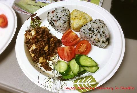 典型的な日本のご飯