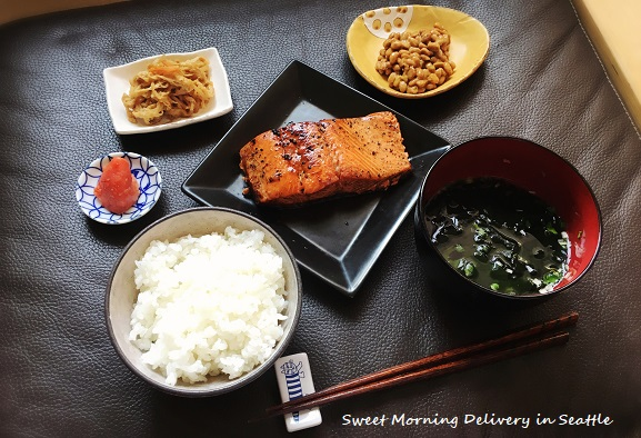 Authentic Japanese breakfast