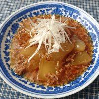 朝からほっこり♪とろとろ食感の旬ベジ「冬瓜の中華煮」