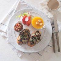 キッチンクロスでおしゃれ朝食を作るワザ&簡単タルティーヌレシピ
