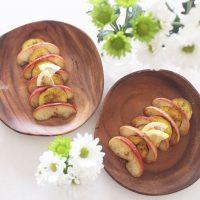 プチプラ花びんで!朝のテーブルコーデ術&簡単りんごのソテーレシピ♪