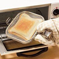 トースターで使えるホットサンドメーカー!「グリルホットサンドメッシュ 」