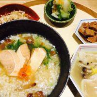 【新橋】朝から本格和食の朝粥定食が650円!@きたかた食堂