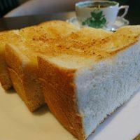 【大阪】バターしみしみ!巨大「厚切りトースト」モーニング@珈琲館えんの森