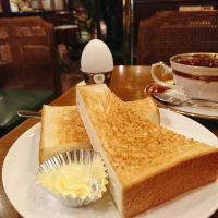 【大阪】昭和レトロな純喫茶のトーストモーニング@Coffee House 再會