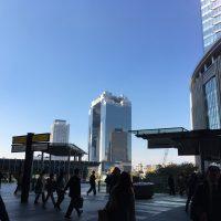 大阪 梅田の朝