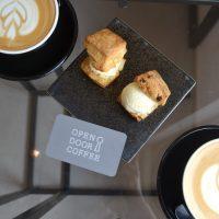 京都の朝カフェは止まらない‼スコーンサンドアイスとラテで朝時間