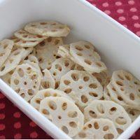 おせちやお弁当に♪年始に便利な作り置き「れんこんの柚子こしょう味噌」