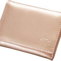 ミニバッグに便利!お札も小銭もしっかり入る「コジット 手のり財布」