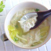 朝のワンタンスープも簡単!便利すぎる「ワンタン」の作り置き