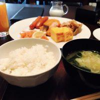 今日はホテルで和朝食日和♪ホテル朝食☆【グランド ハイアット 東京】