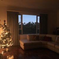 『クリスマスへ向かう静かな朝時間』