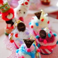 Putitカップケーキと一緒に・・・Joyeux Noël♪(キャップなHandmade)