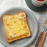 熱々ホクホク!冬の朝ごはんにおいしい「ベーコンポテトトースト」