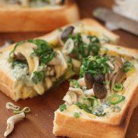 トースターと食パンで簡単♪ちょっとリッチな「キッシュトースト」