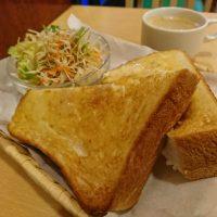 【大阪】厚切りトーストってこれこれ!と唸る王道モーニング♪@コペンハーベスト