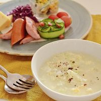 風邪のひきはじめにも!お腹に優しい「白菜と卵のとろとろスープ」