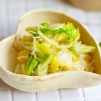 止まらない美味しさ!簡単『白菜とじゃこの中華和え』の作り置き
