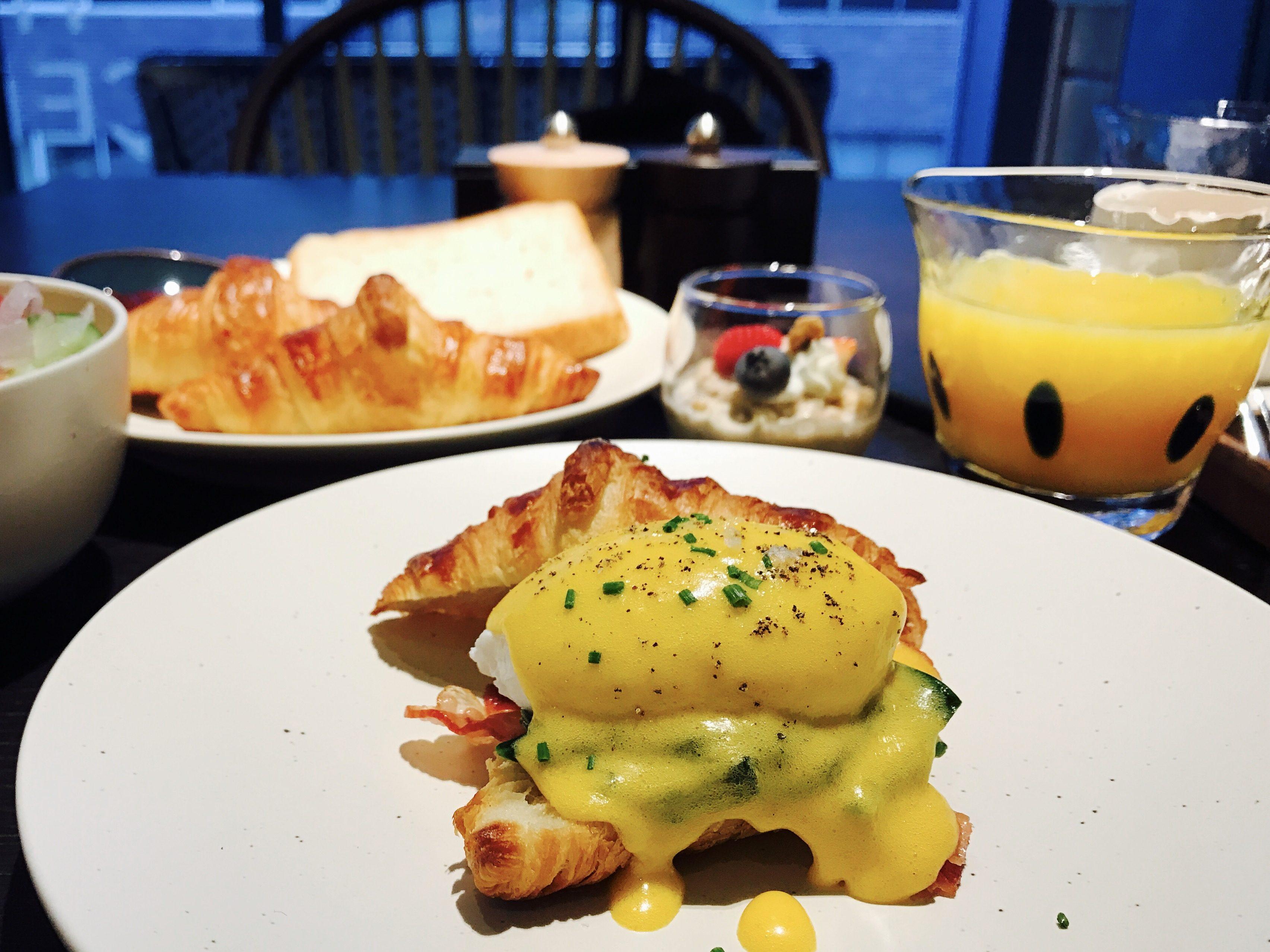 サックサク!とろとろ〜♪都内で一番美味しいエッグベネディクトはここ!ホテル朝食☆【ハイアットセントリック】