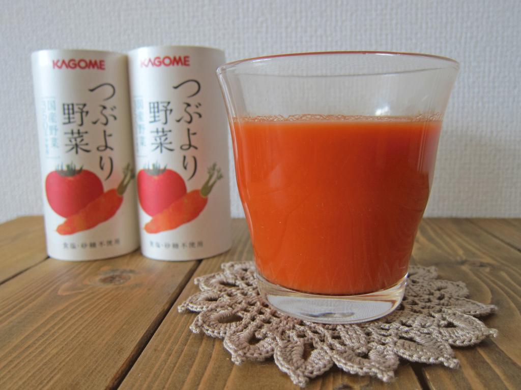 カゴメの通販限定野菜ジュース「つぶより野菜」
