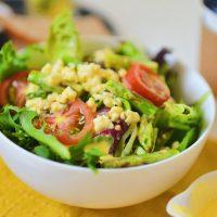 春野菜に♪チンして混ぜるだけ「オランジェソース風ドレッシング」