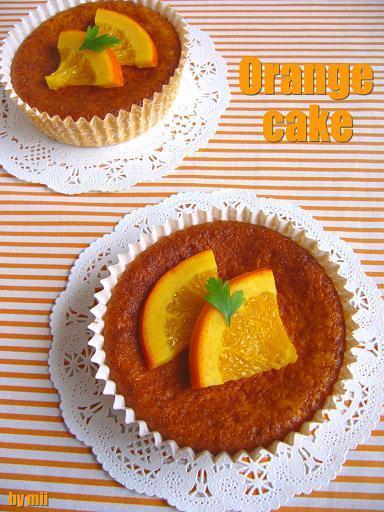 ホットケーキミックスでお手軽「オレンジカップケーキ」