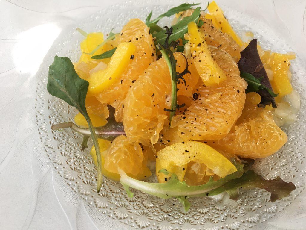 柑橘系シトラスマリネ