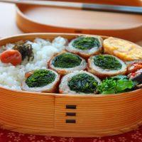 食物繊維ギュギュッ!簡単「わかめの肉巻き」ダイエット弁当