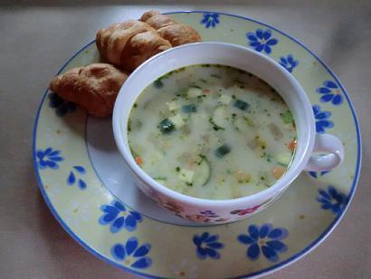 刻んだ野菜をチョイ足し☆「簡単あったかスープ」レシピ