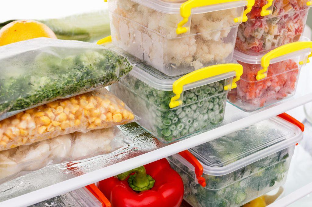 冷凍庫の片付けテクニック