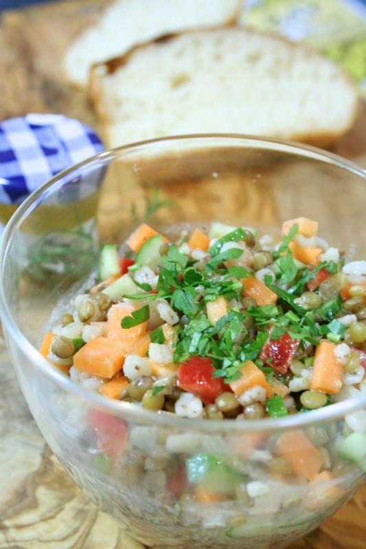 さっぱり爽やか♪「レンズ豆のサラダ」