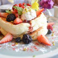 ふわふわ過ぎる⁈朝パンケーキ‼︎