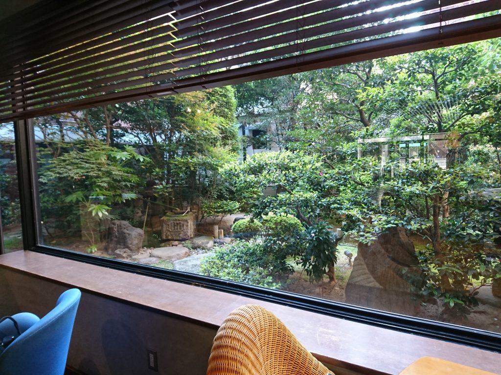 【京都】お庭を見ながら味わう「IEMON」和モーニング@伊右衛門サロン京都 店内